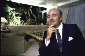 Mr. Adnan M Khashoggi, in his younger days. Originally from Saudi Arabia ; was close friends with my father for 30 years - now lives in France and Saudi