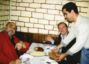 Juan Luis Bunuel and my father - Paris, France