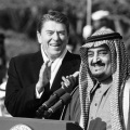 Ronald Reagan, King Fahd