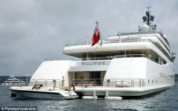 """When Khashoggi used to own this yacht, he named it after his daughter: """"Nabila"""""""