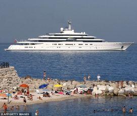 Khashoggi former yacht
