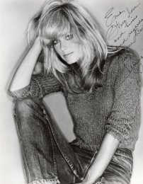 My autographed picture of Farrah Fawcett, that Farrah gave Dad to give to me.