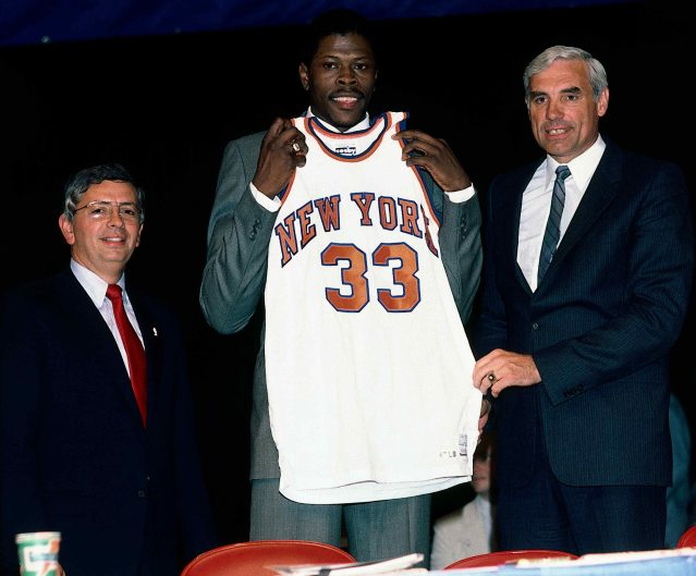 Ewing Draft day portrait